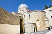 Christian quarter in the old city of Jerusalem — Stock Photo