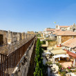 View from the walls of ancient Jerusalem to neighborhoods and city rooftops — Stock Photo #32423197