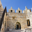 Damascus Gate in Jerusalem. Inside view — Stock Photo