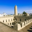 View from the walls of the fortress of Ribat of Sousse in Tunisi — Stock Photo