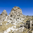 Stock Photo: Uchisar Castle,cave, city, Capapdocia