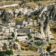 Stock Photo: Town of Goreme-Cappadocia, tourism capital of Turkey