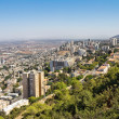 View from Mount Carmel to Haifa in Israel — Stock Photo #32983801