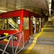 Metro station on Mount Carmel in Haifa, Israel — Stock Photo #33175033
