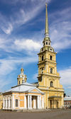 Cathedral of the Peter and Paul Fortress — 图库照片