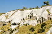 The Valley of the pigeons in Capadocia, Turkey — Stock Photo
