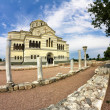 St Volodymyr's Cathedral-orthodox temple on the territory of the Tauric Chersonesos in Sevastopol — Stock Photo