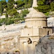 Stock Photo: Tomb of Absalom on the Mount of olives in Jerusalem