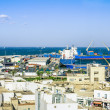 View from the heights over the port  of Sousse Tunisia — Stock Photo