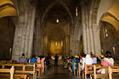 Homily in the Basilica of St. Anne (Jerusalem) — Stockfoto