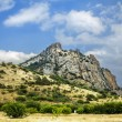 Stock Photo: Crimea, extinct volcano Kara-Dag mountain reserve, Ukraine