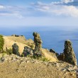 Crimea, extinct volcano Kara-Dag mountain reserve, Ukraine — Stock Photo