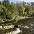 The Rapids on the river Vuoksa near Losevo station — Stock Photo