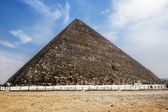 De piramide van cheops in giza, cairo, Egypte — Stockfoto