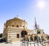 Temple of the Holy great martyr George the victorious in Cairo — Stock Photo