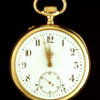 Genuine Antique Pocket Watch — Stock Photo