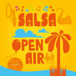 Salsa Open Air — Stock Vector #48193811