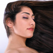 Woman beautiful hair — Stock Photo