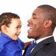 Father with son — Stock Photo #30269505