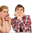 Couple waiting — Stock Photo #30469249