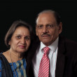 Mature indian couple — Stock Photo