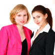 Two cute businesswomen — Stock fotografie