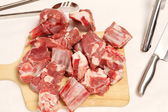 Fresh mutton — Foto Stock