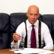 CEO or boss at work — Stock Photo