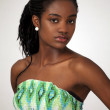 Beautiful african girl — Stock Photo