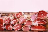 Deli meat display — Stockfoto