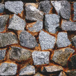 Stonework dark — Stock Photo