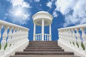 Witte paviljoen — Stockfoto