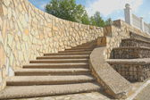 Stairs and stonework — Stock Photo