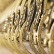 Gilded fence — Stock Photo