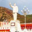 Chairman Mao statue in Lijiang new town — Stock Photo