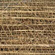Thousands of bamboo which is the Scaffolding project in office building construction site in hong kong downtown — Stock Photo #46875803