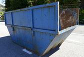 Industrial waste bin — Stock Photo