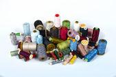 золотник швейных ниток — Стоковое фото