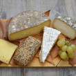French cheese platter — Stock Photo #35662079