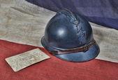 1914 helmet — Stock Photo