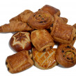 French pastries — Stock Photo