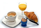 Small french breakfast — Stock Photo