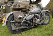 Světové války dvě vojenská motorka — Stock fotografie
