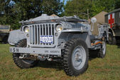 World war two military vehicle — Foto de Stock