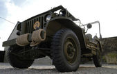 World war two military vehicle — Foto de Stock