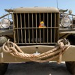 Stock Photo: World war two military truck