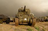 World war two sherman tank — Stock Photo
