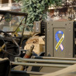 Stock Photo: Radio in world war two military vehicle
