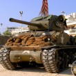 Stock Photo: World war two tanks sherman
