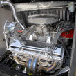 Stock Photo: Engine of tuning car